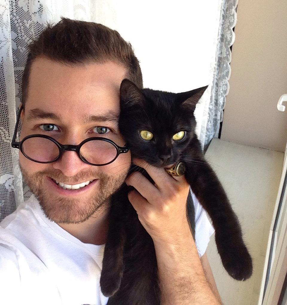 Я и мой кот Балансик